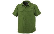 Columbia Men&#039;s Silver Ridge Short Sleeve Shirt palm